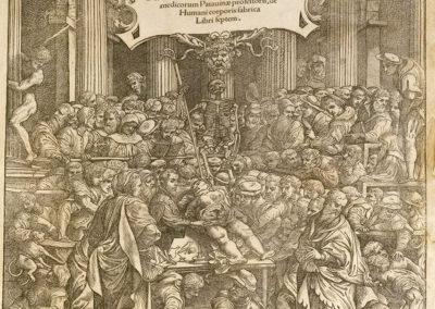 Scholae medicorum Patauinae professoris de humani corporis fabrica libri septem by Andreas Vesalius